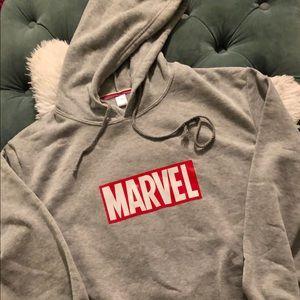 Marvel Gray Hoodie
